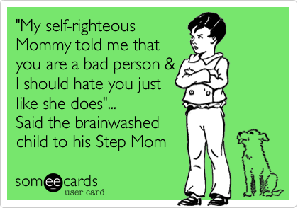 """My self-righteous 