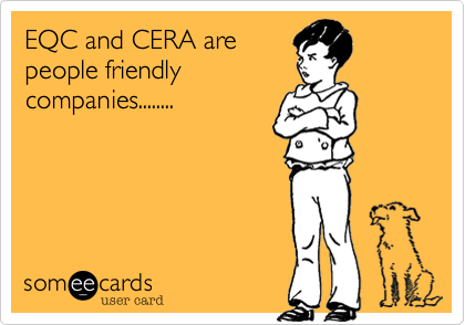 EQC and CERA are
