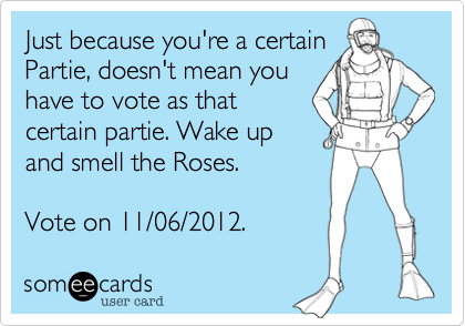 Just because you're a certain