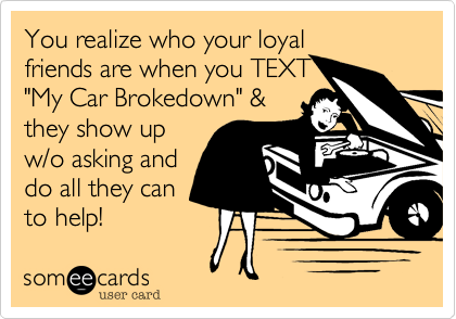 You realize who your loyal
