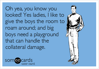 Oh yea, you know you