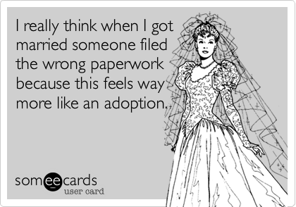 I really think when I got