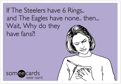 If The Steelers have 6 Rings..