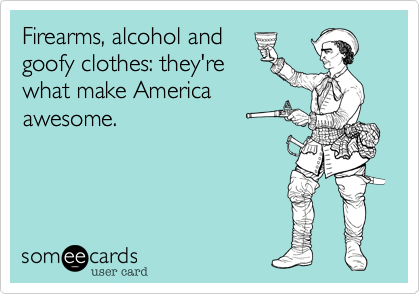 Firearms, alcohol and
