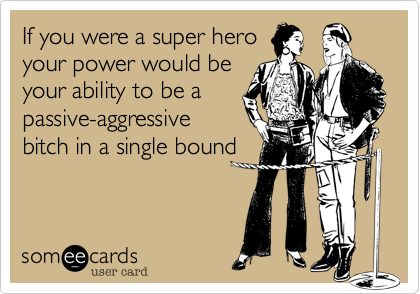 If you were a super hero