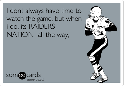 I dont always have time to