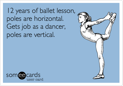 12 years of ballet lesson,
