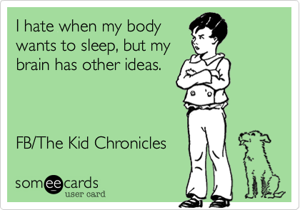 I hate when my body