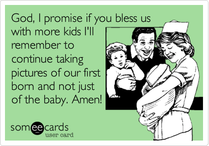 God, I promise if you bless us