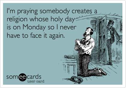 I'm praying somebody creates a