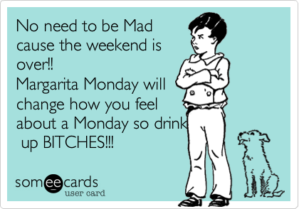 No need to be Mad