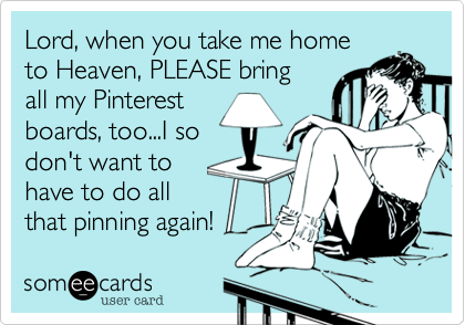 Lord, when you take me home