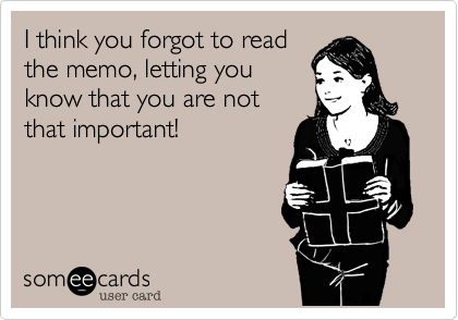 I think you forgot to read