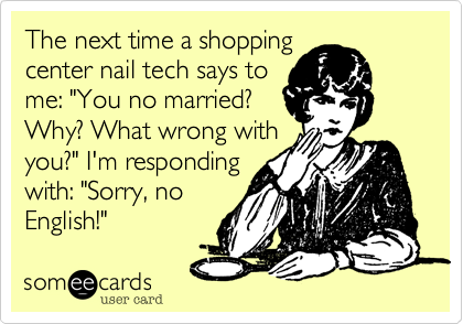The next time a shopping 