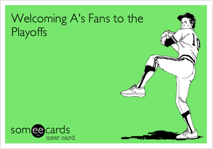Welcoming A's Fans to the