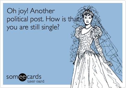 Oh joy! Another