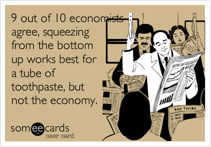 9 out of 10 economists
