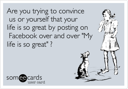 Are you trying to convince