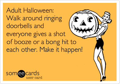 Adult Halloween: