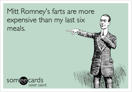 Mitt Romney's farts are more
