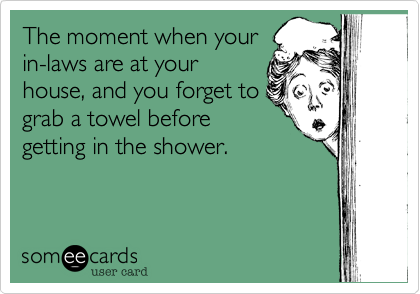 The moment when your
