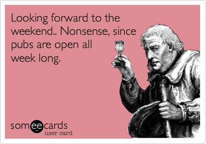 Looking forward to the