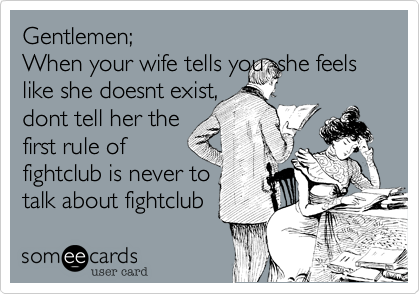 Gentlemen;