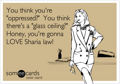 You think you're 