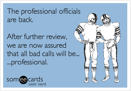 The professional officials