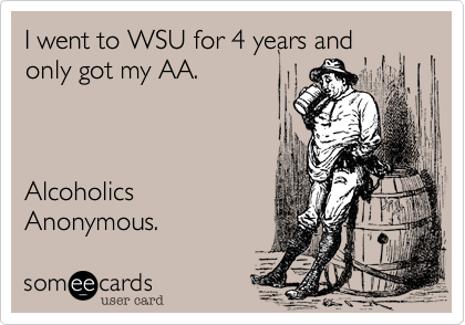 I went to WSU for 4 years and