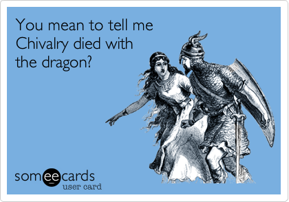 You mean to tell me