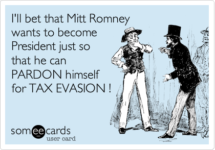 I'll bet that Mitt Romney