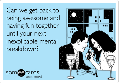 Can we get back to 
