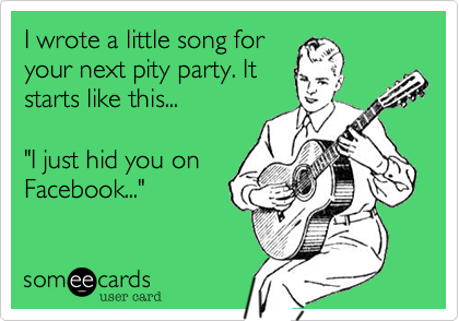 I wrote a little song for
