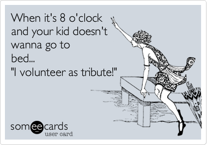 When it's 8 o'clock 