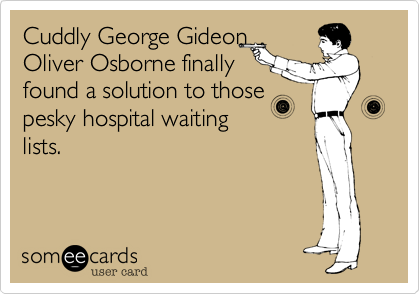 Cuddly George Gideon
