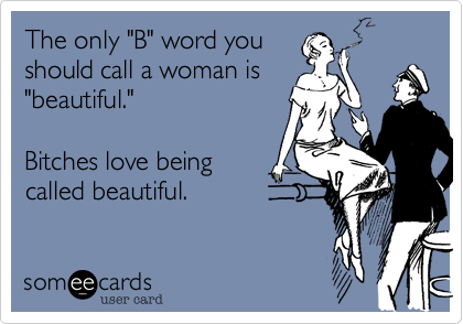 "The only ""B"" word you