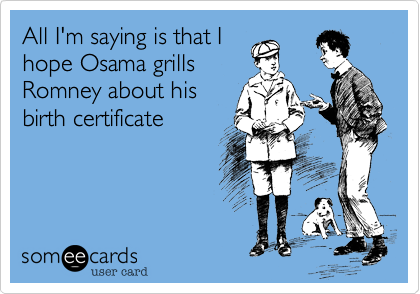 All I'm saying is that I
