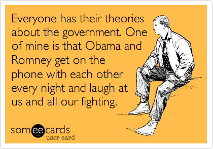 Everyone has their theories