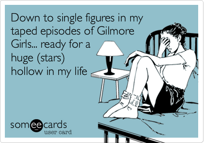 Down to single figures in my
