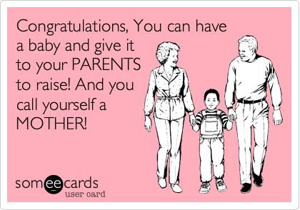 Congratulations, You can have