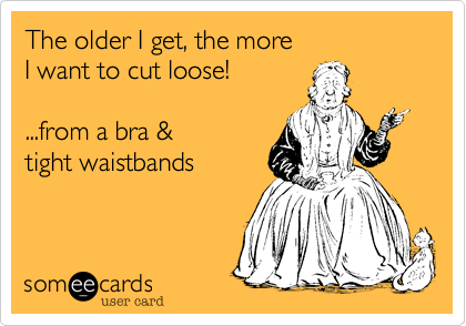 The older I get, the more 