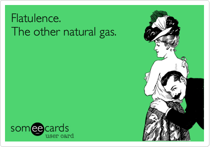 Flatulence.