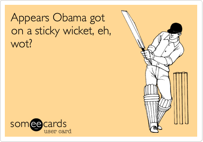Appears Obama got 