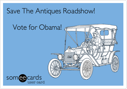 Save The Antiques Roadshow!