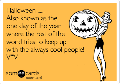 Halloween ......