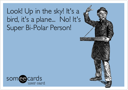 Look! Up in the sky! It's a