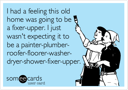 I had a feeling this old