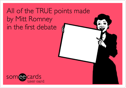 All of the TRUE points made