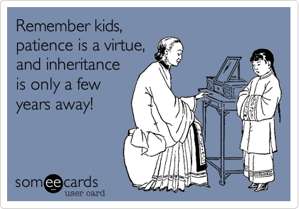 Remember kids,